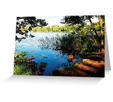 Virginia Water Lake, Windsor, England Greeting Card