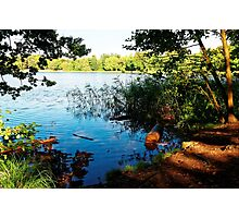 Virginia Water Lake, Windsor, England Photographic Print