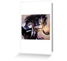 Death Note Greeting Card