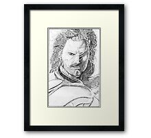 Aragorn Portrait Framed Print