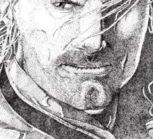 Aragorn Portrait Sticker