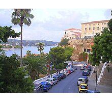 Mahon.....................................Menorca Photographic Print