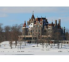 WINTRY BOLDT CASTLE Photographic Print