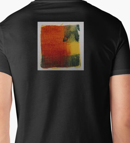 2015.02.24 / Vibrant expressive abstract Mens V-Neck T-Shirt