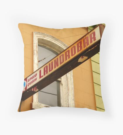 Laundrobar Throw Pillow