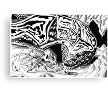 Dragon Slayer! Canvas Print