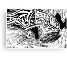 Dragon Slayer! Canvas Print