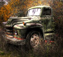 Old Trucks Never Die by Stephen  Van Tuyl