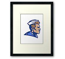 Mariner Sport Logo Framed Print