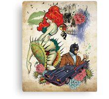 El Beso Mortal Canvas Print