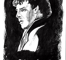 Sherlock in Charcoal by cjoech