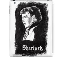Sherlock in Charcoal iPad Case/Skin