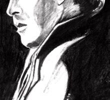 Sherlock in Charcoal Sticker
