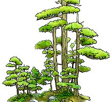 Bonsai Forest by Francesa