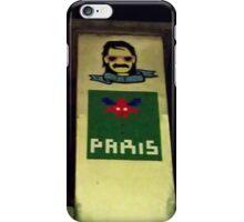 Space Invaders Paris iPhone Case/Skin