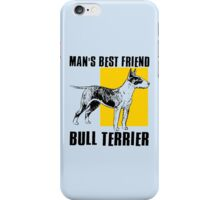 BULL TERRIER-2 iPhone Case/Skin