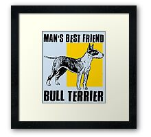 BULL TERRIER-2 Framed Print