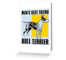 BULL TERRIER-2 Greeting Card