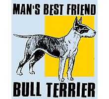BULL TERRIER-2 Photographic Print