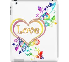 Love in your heart  iPad Case/Skin