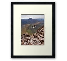 Barn Bluff from Cradle Mountain Framed Print