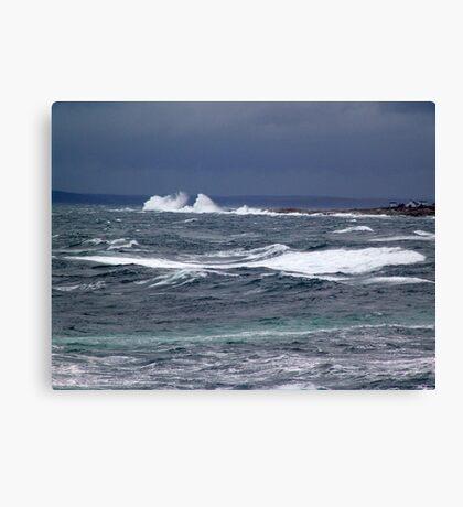 The Sea Shall Not Reach Them Canvas Print