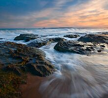Covering the Beach by DawsonImages
