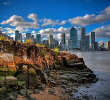 Kangaroo Point, Brisbane, Australia. by Mickstar001