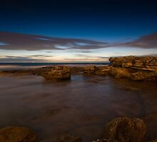 Dawn on Little Bay by Erik Schlogl