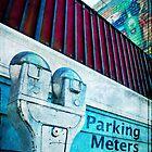 Parking Meters in Lunenburg by Kate Wilhelm