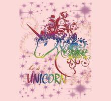 Be A Unicorn Kids Tee