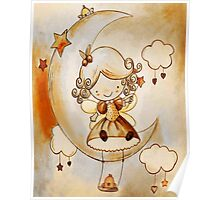 ..: AnGeL SiTTinG On ThE MooN:.. Poster