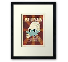 Pokemon Museum ad  Framed Print
