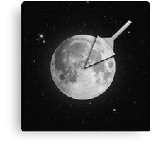 Moon Slice Canvas Print