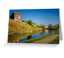 House on the Canal Greeting Card