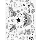 Harry Styles Tattoos by Tiffany Larson