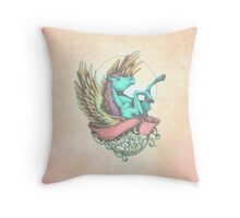 The Divine Stallion Throw Pillow