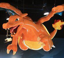 Charizard Pokemon Center Statue by UniKoRn