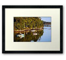Booth Bay Framed Print