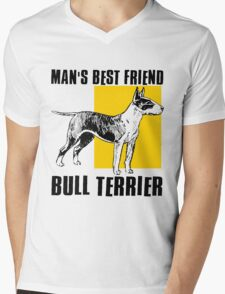 BULL TERRIER-2 Mens V-Neck T-Shirt