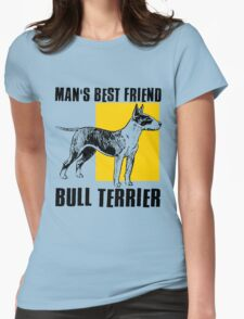 BULL TERRIER-2 Womens Fitted T-Shirt