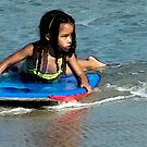 Little Ms Surfer © by Mary Campbell