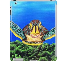 "Aloha..........""Honu'ea Sean""........""SLOW MOVER"" iPad Case/Skin"