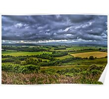 Northumberland Fields Poster
