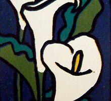 Arum Lilies 2 by Alexandra Felgate