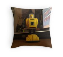 transformers bumble bee Throw Pillow