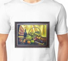 Still Life with Basket Unisex T-Shirt