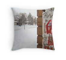 Graffiti for the Holidays Throw Pillow