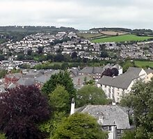 "UK: ""Launceston Panorama 2"", Cornwall by Kelly Sutherland"