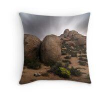 Buttermilk Boulders by Moonlight Throw Pillow